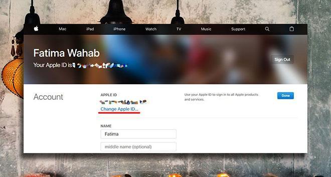 Cách thay đổi địa chỉ email đã khai báo trên Apple ID-3