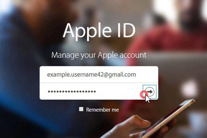 Cách thay đổi địa chỉ email đã khai báo trên Apple ID-1