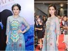 'Đụng hàng' váy với Hoa hậu Đỗ Mỹ Linh, nhưng Văn Mai Hương lại trông già hơn hẳn vì chọn nhầm phụ kiện kiểu... quý bà