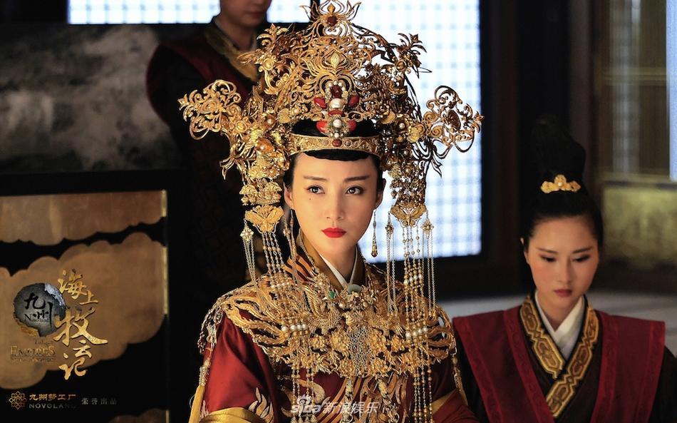 Đệ nhất mỹ nhân cổ trang Trung Quốc tái xuất lộng lẫy ở tuổi 42-2 Đệ nhất mỹ nhân cổ trang Trung Quốc tái xuất lộng lẫy ở tuổi 42