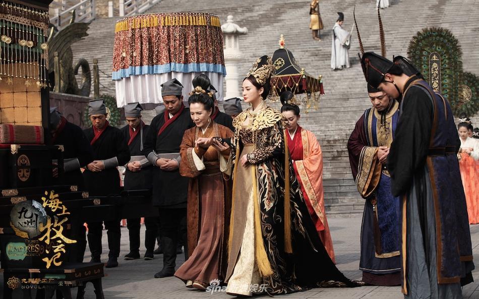 Đệ nhất mỹ nhân cổ trang Trung Quốc tái xuất lộng lẫy ở tuổi 42-4 Đệ nhất mỹ nhân cổ trang Trung Quốc tái xuất lộng lẫy ở tuổi 42