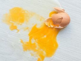 Trứng vỡ dọn không kỹ tanh khủng khiếp, nhưng chỉ cần làm 3 bước sau là nhà thơm tho ngay