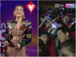 Khán giả đồng loạt phản đối khi Chi Pu hát tiếng Hàn tại lễ trao giải MAMA 2017
