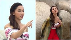 Chẳng phải siêu mẫu, Thiên Lý vẫn cực kỳ ấn tượng khi tạo dáng thị phạm cho thí sinh hoa hậu