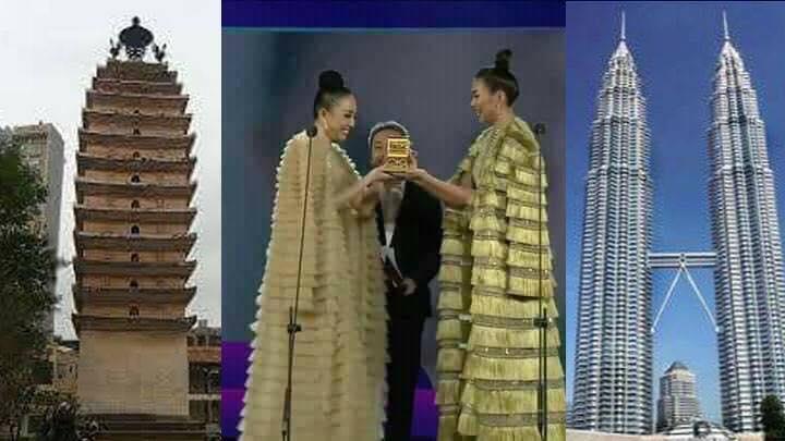 Mặc váy tòa tháp giống Tóc Tiên - Hari Won, hoa hậu Kỳ Duyên đẹp chẳng hề kém cạnh-3