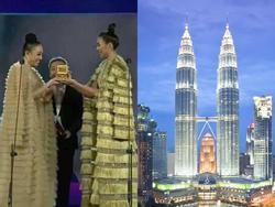 Pha 'đụng hàng' lịch sử ở MAMA 2017: Tóc Tiên - Thanh Hằng bị ví như tòa tháp đôi