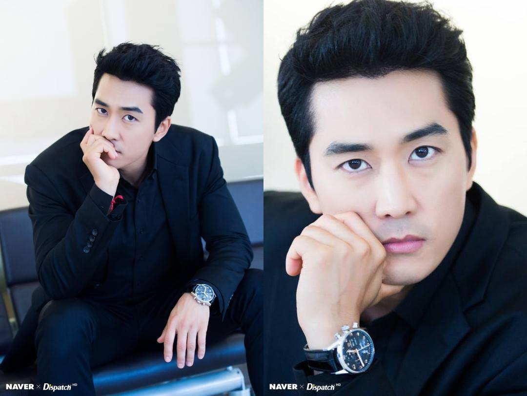 Sao Hàn 26/11: Chỉ là ảnh hậu trường thế nhưng Song Seung Hun vẫn đẹp trai quyến rũ mê người-2