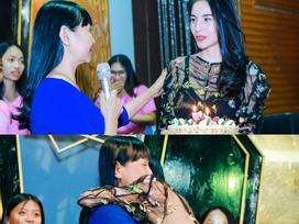 Sinh nhật tuổi 32, Thủy Tiên khóc khi lần đầu tiên được mẹ nói lời chúc mừng