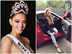 Không chỉ xinh đẹp, tân Hoa hậu Hoàn vũ Thế giới còn sở hữu gu thời trang chuẩn 'rich kid'