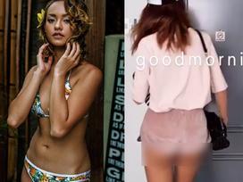 Mặc quần ngắn cũn cỡn, Mai Ngô gây sốc với gu thời trang phản cảm