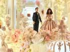 Chiêm ngưỡng chiếc bánh cưới cao 5m đẹp như lâu đài trong cổ tích