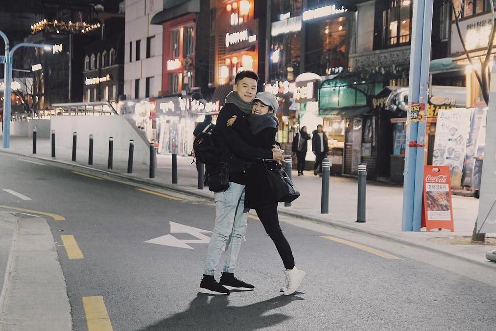 Tùng Sơn - Trang Lou trốn con xuất ngoại sang Hàn kỷ niệm 2 năm ngày cưới-4
