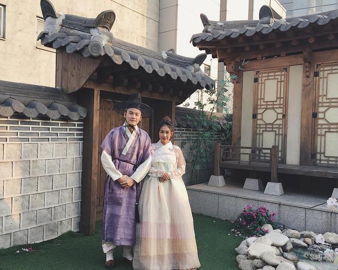 Tùng Sơn - Trang Lou trốn con xuất ngoại sang Hàn kỷ niệm 2 năm ngày cưới-3