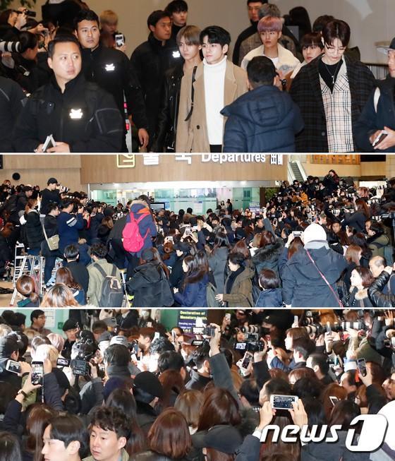 Di chuyển sang Nhật trao giải MAMA, Park Bo Gum cùng dàn Idol xứ Hàn khiến sân bay náo loạn-4