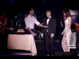 Sau lời chúc ngọt ngào, Kim Lý tiếp tục bày bỏ tình yêu khi tổ chức sinh nhật cho Hồ Ngọc Hà tại Mỹ