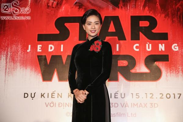 Ngô Thanh Vân và sao gốc Việt của Star Wars khoe sắc cùng áo dài-1