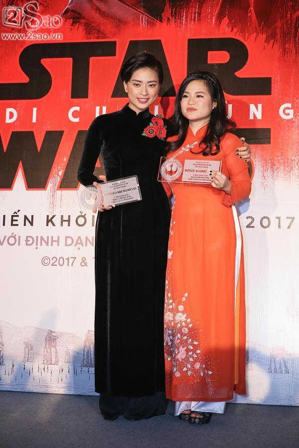 Ngô Thanh Vân và sao gốc Việt của Star Wars khoe sắc cùng áo dài-9