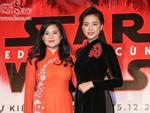 Ngô Thanh Vân và sao gốc Việt của 'Star Wars' khoe sắc cùng áo dài