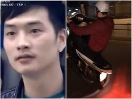 Diễn viên 'Người phán xử' bốc đầu xe máy, chửi bậy giữa phố