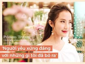 Primmy Trương: 'Mình biết chuyện gì xảy ra khi yêu Phan Thành'