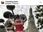 Chụp ảnh khoe mông ở đền thờ Thái Lan, cặp đôi blogger du lịch người Mỹ bị dân địa phương dọa giết