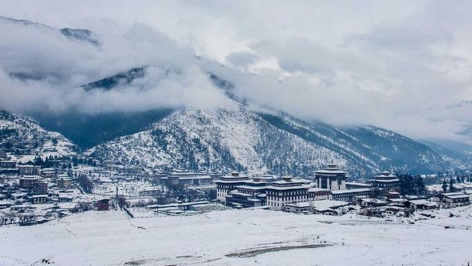 Bhutan đẹp như tiên cảnh vào mùa đông-1