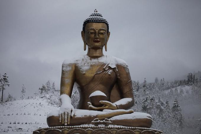 Bhutan đẹp như tiên cảnh vào mùa đông-2