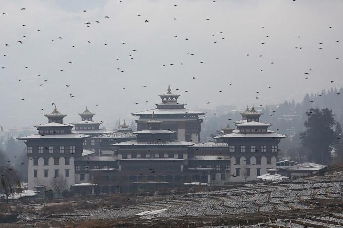 Bhutan đẹp như tiên cảnh vào mùa đông-4