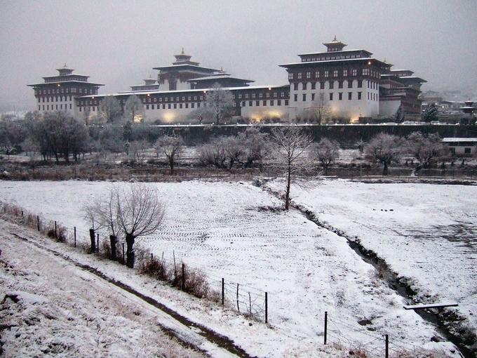 Bhutan đẹp như tiên cảnh vào mùa đông-5