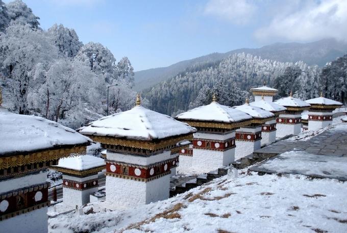 Bhutan đẹp như tiên cảnh vào mùa đông-8
