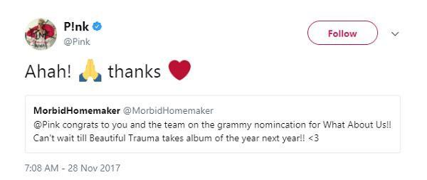Lady Gaga, Lana Del Rey và loạt sao phản ứng trước đề cử Grammy 2018-5