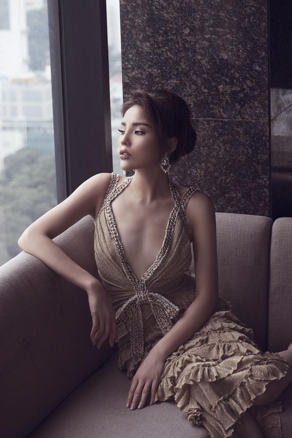 Mặc váy tòa tháp giống Tóc Tiên - Hari Won, hoa hậu Kỳ Duyên đẹp chẳng hề kém cạnh-5