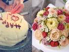 Không ngờ, 3 năm sau 'tai nạn' bánh kem, Hà Tăng đã làm được chiếc bánh xuất sắc này