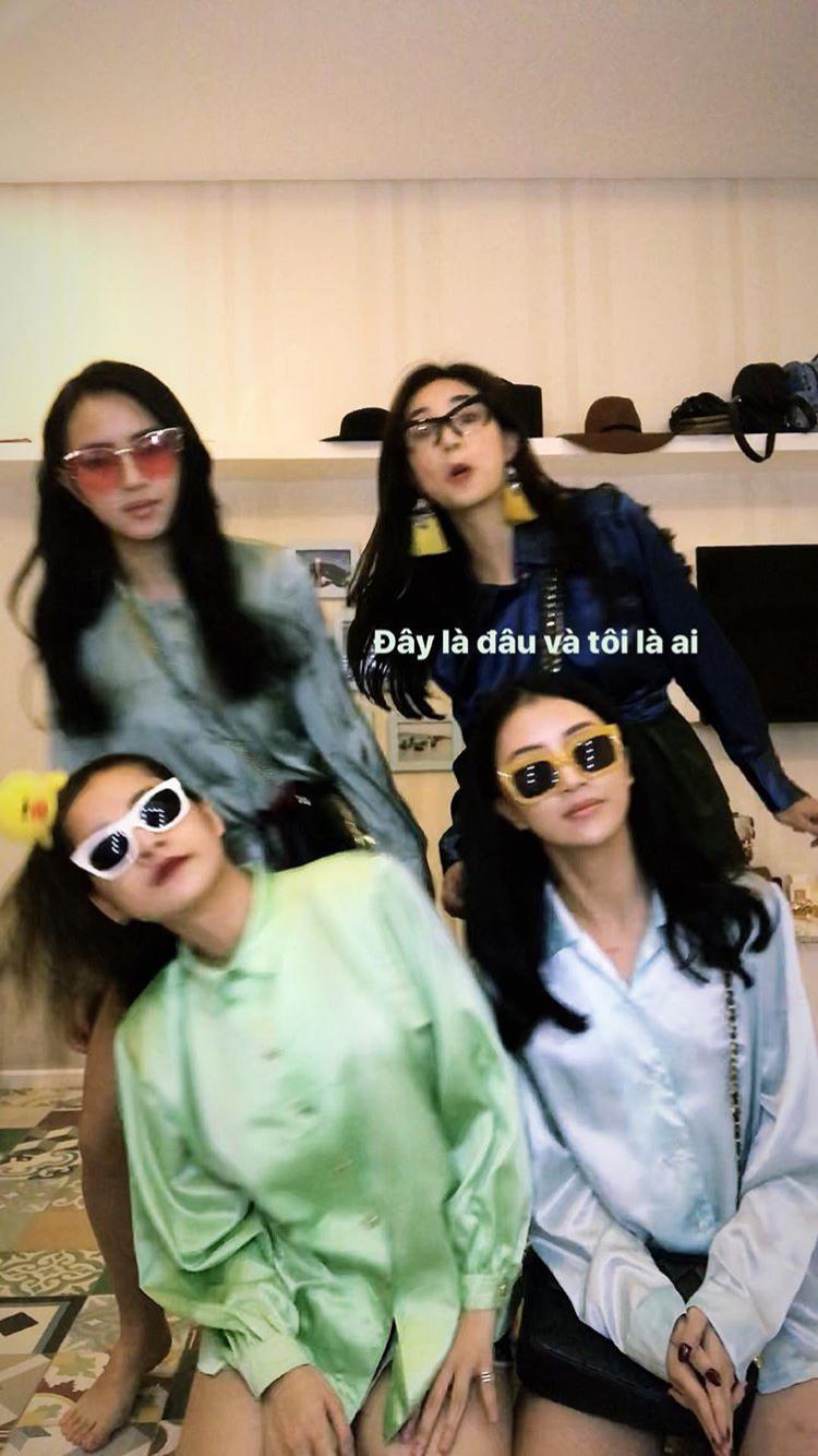 Khoảnh khắc hot nhất ngày: Khi 4 hot girl hàng đầu chị chị em em sát cánh cùng nhau!-1