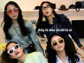 Khoảnh khắc hot nhất ngày: Khi 4 hot girl hàng đầu chị chị em em sát cánh cùng nhau!