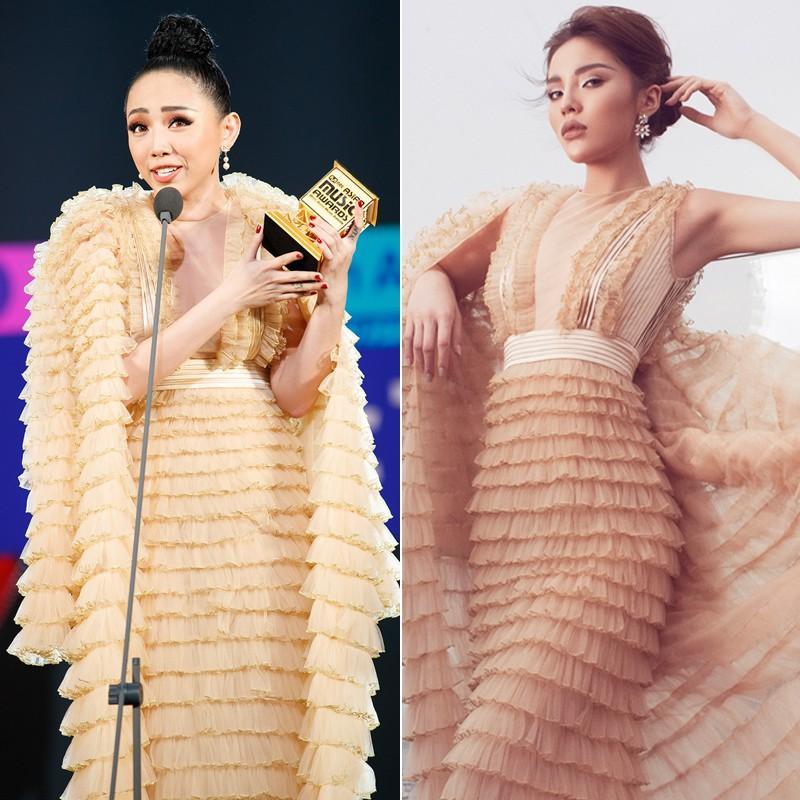Mặc váy tòa tháp giống Tóc Tiên - Hari Won, hoa hậu Kỳ Duyên đẹp chẳng hề kém cạnh-2