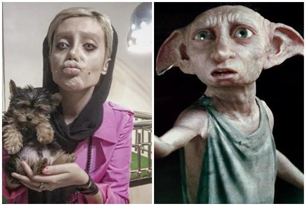 Cô gái hóa quỷ dạ xoa sau 50 lần phẫu thuật thẩm mỹ để giống thần tượng Angelina Jolie-3
