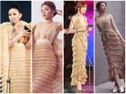 Mặc váy 'tòa tháp' giống Tóc Tiên - Hari Won, hoa hậu Kỳ Duyên đẹp chẳng hề kém cạnh
