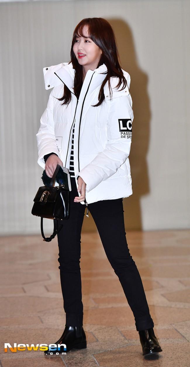 Mỹ nhân Running man Song Ji Hyo - Jessica lên đồ ngày đông đẹp nhất street style sao Hàn-2