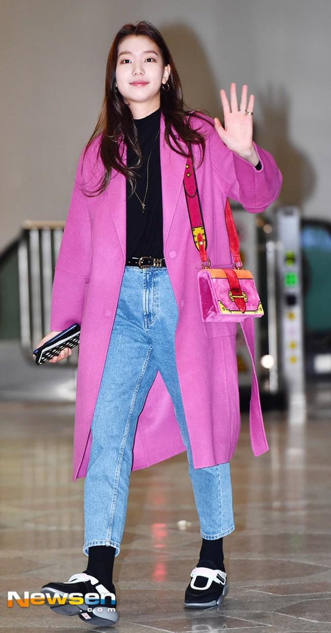 Mỹ nhân Running man Song Ji Hyo - Jessica lên đồ ngày đông đẹp nhất street style sao Hàn-3