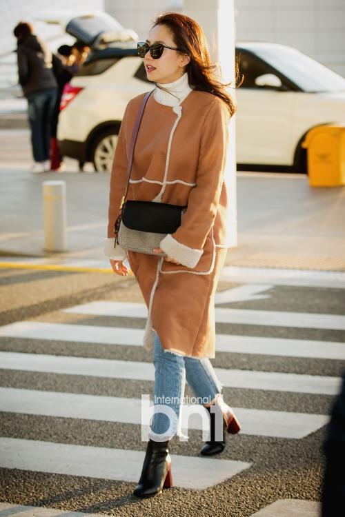 Mỹ nhân Running man Song Ji Hyo - Jessica lên đồ ngày đông đẹp nhất street style sao Hàn-4