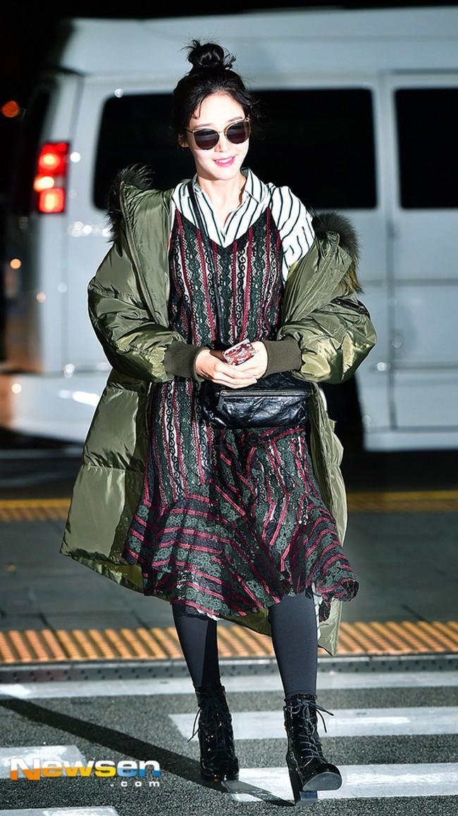 Mỹ nhân Running man Song Ji Hyo - Jessica lên đồ ngày đông đẹp nhất street style sao Hàn-5