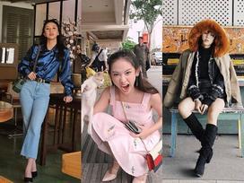 Thúy Vi váy hồng trẻ trung - Quỳnh Anh Shyn 'lên đồ' công sở đẹp nhất street style tuần này