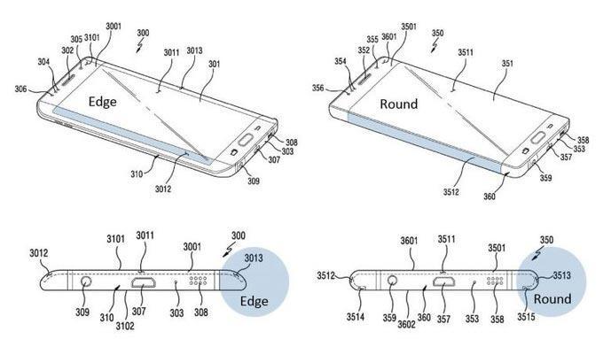Sắp có smartphone Samsung màn hình uốn cong toàn diện?-1
