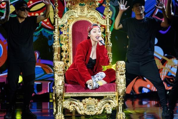 Liên tục bị chê hát dở, Miu Lê đọc rap đáp trả nhạc sĩ Dương Cầm-6