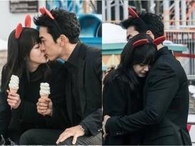 Tin sao Hàn: Go Ara chủ động trao Song Seung Hun nụ hôn ngọt ngào