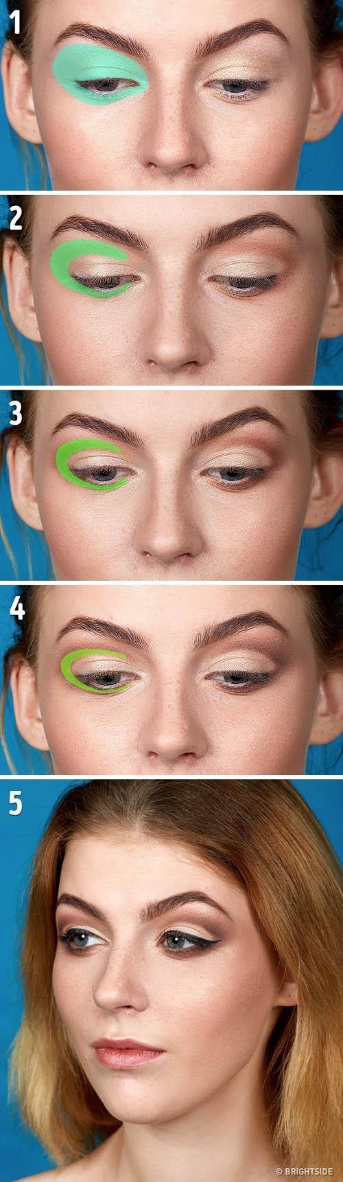 Cần gì bỏ tiền triệu để học trang điểm nếu biết 5 mẹo make up mắt này!-2