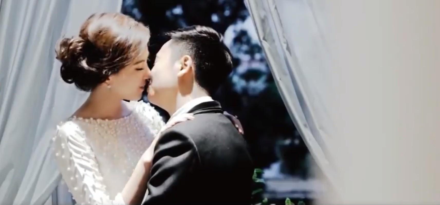 Kỉ niệm 1 năm ngày cưới, 'hot girl thời tiết' Mai Ngọc tung clip đẹp tựa ngôn tình-4