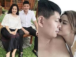 Bà xã Bình Minh lên tiếng: 'Tôi không quan tâm tin đồn của chồng. Gia đình chúng tôi vẫn bình thường'