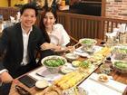 Tin sao Việt: Hoa hậu Thu Thảo hào hứng 'ăn phở mẹ nấu' cùng chồng đại gia